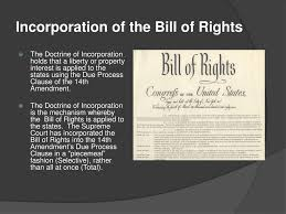 Bill Of Rights Powerpoint Ppt Incorporation Of The Bill Of Rights Powerpoint Presentation