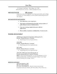 Sample Hr Resumes Experience Examples Of Hr Resumes Download Hr Manager Resume Samples Examples