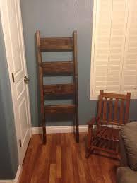 Diy Blanket Ladder Blanket Ladder Shanty 2 Chic