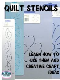 Quilt Stencils – Using Them for Quilting and More -- CreateForLess & Using Quilt Stencils in Quilting and Other Crafts | CreateForLess.com  Discount Craft Supplies Adamdwight.com