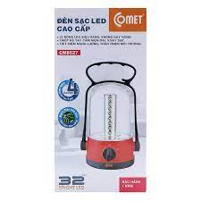 Đèn Sạc LED Comet CM8527 (11W) - Hàng Chính Hãng - Đèn sạc