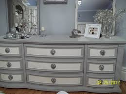 Painting Old Bedroom Furniture Painted With Paris Gray And Old White Annie Sloan Chalk Paint My