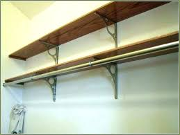shelf with clothes rod clothes bar for closet closet rod and shelf closet rod shelf bracket closet rods rod pull