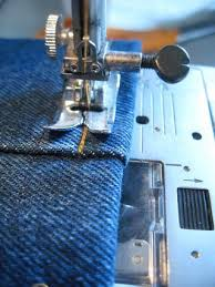Hemming Jeans Sewing Machine