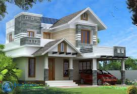 Small Picture Modern Kerala Style House Design with 4 Bhk