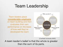 How To Be A Good Team Leader At Work Team Leadership