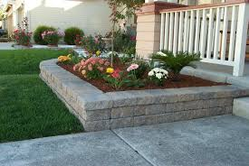 weathered stone retaining wall allen