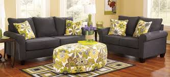 rustic living room furniture sets. Nolana Charcoal Living Room Furniture Sets With Accent Floral Coffee Table And Pillow Design Rustic