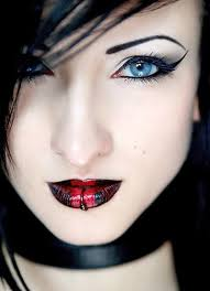 makeup and skin ideas with lip makeup for dark lips with emo eye makeup emo