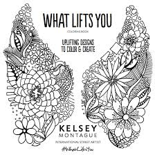 title page for book coloring book title page kelsey montague art