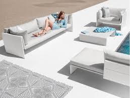 dedon outdoor furniture. Modern Outdoor Wicker Furniture Set - Slim Line By Dedon