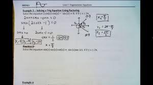 mhf4u1 7 6b solving quadratic trig equations