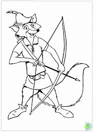 Small Picture Robin Hood Coloring Page DinoKids Coloring Home