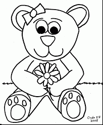 Small Picture spectacular teddy bear picnic coloring pages with teddy bear