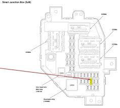 18160 08 f150 fuse panel diagram 2005 Ford F150 Fuse Box Wiring Diagram Ford F-250 Fuse Box Diagram