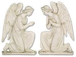 angel wall plaque set garden angel