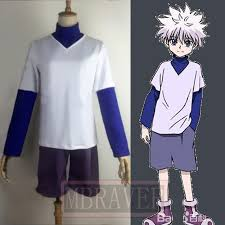 <b>Hunter x</b> Hunter <b>Cosplay Killua</b> Zoldyck <b>Cosplay Costume</b>-in Anime ...