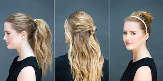 10 Easy Hairstyles You Can Do In 10 Seconds Diy Hairstyles