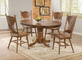 dining room table and 8 chairs white oak set
