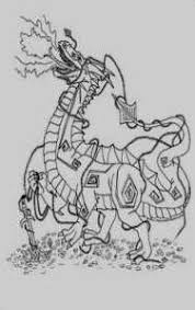 16 Images Of Dragon Coloring Pages Kantame