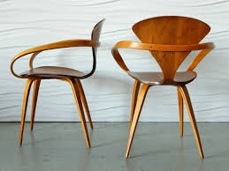 norman cherner molded plywood and bentwood chairs for plycraft 2 cherner furniture