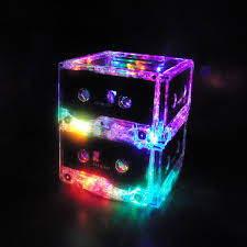 cool mood lighting. cassette tape night light lamp upcycled ecofriendly this is sooo cool mood lighting l