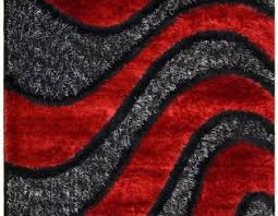 Appealing Red And Gray Area Rugs 43 Rack Grey Waves Cool Rug Designs