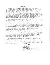 Warrant Officer Letter Of Recommendation Example Magdalene