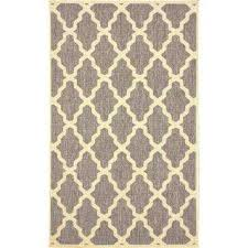 gina moroccan trellis grey 9 ft 11 in x 14 ft outdoor area