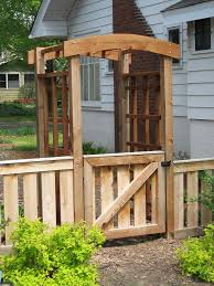Small Picture 283 best Garden Gates and Fences images on Pinterest Fencing
