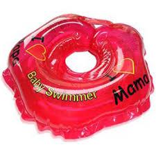 Купить <b>надувной круг Baby Swimmer</b> красный (полноцветный), 3 ...