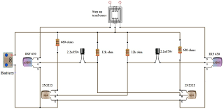 v dc to v ac converter inverter circuit design circuit diagram 12v to 220v inverter cirucit