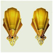 art deco wall sconce light fixtures