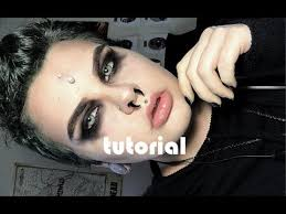 easy men s goth makeup tutorial