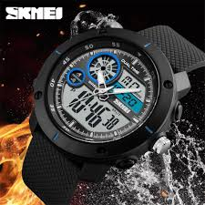SKMEI Outdoor Sport <b>Watches 50m Waterproof Men</b> Military Army ...
