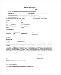 Examples Of Executive Resumes Free Sample Salary Certificate Letter
