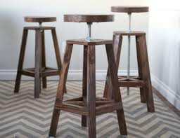 DIY Bar Stools - with Adjustable Height