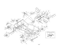 Manco fun kart parts model 436c14 sears partsdirect diagram