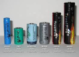 Li Ion Battery Size Chart 14500 Battery Size Mrsolde