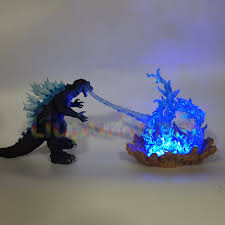 Godzilla Light Godzilla Led Cannon Power Blue Fire Skill Anime Movie