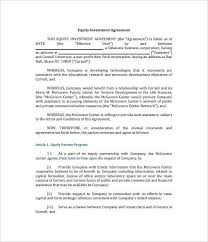 Download Now 12 Investor Agreement Sample Document Enhance The