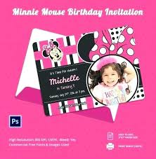 Free Minnie Mouse Birthday Invitations Minnie Mouse Electronic Invitations Budet Pro