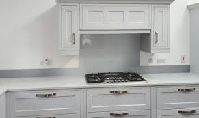 Kitchen Glass Splashback Glass Metallic Painted Kitchen Glass Splashbacks Silver