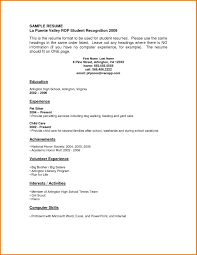 First Resume Template First Resume Template No Experience Templates Resume Templates For 23