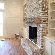 basement fireplaces. rustic brick and wood beam fireplace is another good option basement fireplaces r