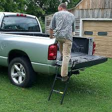 Pick Up Bed Step Make Your Pickup Safer More Useful And More ...