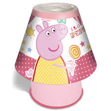 Peppa Pig Bedroom Accessories Disney Amp Character Kids Bedroom Bedside Lamps For Boys And