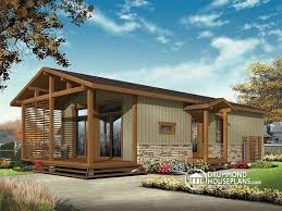 Small Picture W1907 Modern Rustic 700 sqft tiny small house plan very