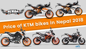 ktm bike in nepal