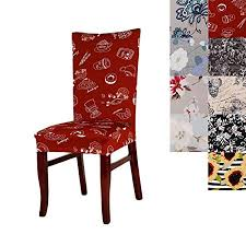 chair covers super fit universal stretch dining chair cover removable washable slipcovers for dining room chairs pack of 1 d amazon co uk kitchen